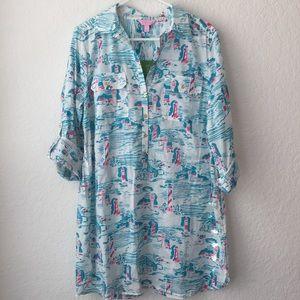 Lilly Pulitzer Captiva Tunic Dress - Watch Out